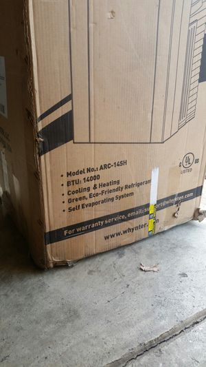 Portable A C and heater in 1 for Sale in Columbus, OH