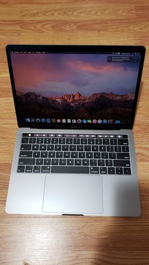 Macbook Pro 2019 Touch Bar And Touch ID for Sale in Miami, FL