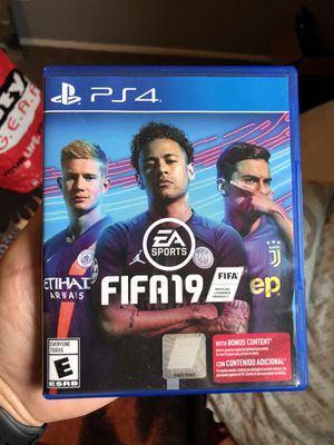 FIFA 19 PS4 for Sale in Houston, TX