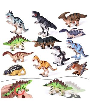 12 Pieces Assorted Wind Up Dinosaur Toys for Kids for Sale in Pleasanton, CA