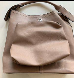 Masaki Matsuka Leather Tote Mauve w Small Clutch Bag for Sale in Lake Forest, CA