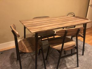 Kitchen Table and 4 Chair set for Sale in Seattle, WA