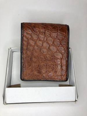 Men's crocodile wallet made in Leon Guanajuato for Sale in Santa Ana, CA