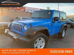 2011 Jeep Wrangler for Sale in Tucson, AZ