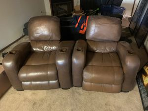 Two big movie chairs for Sale in San Diego, CA