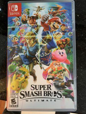 Super Smash Ultimate- Nintendo Switch for Sale in Falls Church, VA