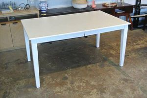 BH&G Wood Farmhouse Kitchen Dining Room Table in White for Sale in Mesa, AZ