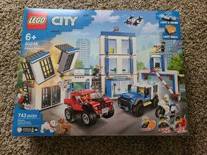 New LEGO 60246 City Police Station Fun Building Set for Kids for Sale in Arlington, VA