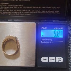 9.8 Grams 14kt Gold Ring W Diamond for Sale in Mechanicsburg, PA