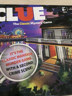 Clue board Game for Sale in Monterey Park,  CA