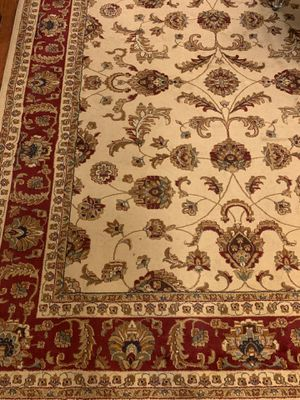 """- Ivory 7'10 * 10'3"""" Sariya Transitional rug. for Sale in Chicago, IL"""