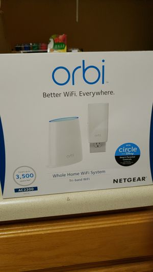 Netgear Orbi router and satellite for Sale in Peyton, CO