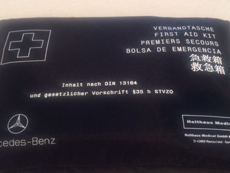 **BRAND NEW NEVER USED SEALED OEM MERCEDES BENZ FIRST AID KIT for Sale in Chicago,  IL
