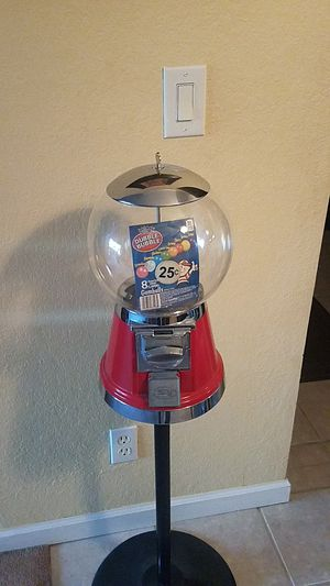 Gumball machine with stand for Sale in Newark, CA