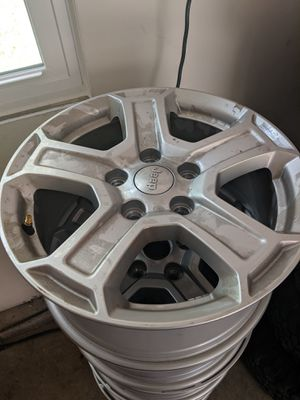 2019 Jeep Wrangler rims. for Sale in White Plains, MD