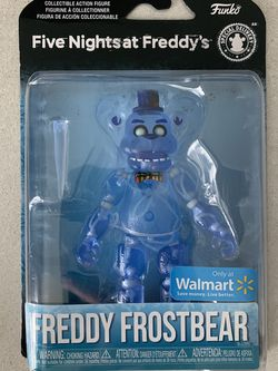 Freddy Frostbear *MINT* FNAF Walmart Exclusive Fiver Nights At Freddy's Special Delivery Collectible Funko Figure for Sale in Lewisville,  TX