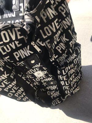 Victoria's Secret Pink rolling duffle bag for Sale in Las Vegas, NV