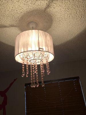 Light pink chandelier for Sale in Hialeah, FL