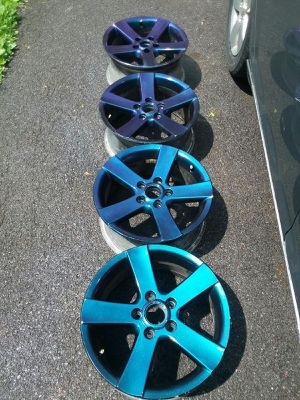 06 16in Jetta Rims 05x112 bolt pattern for Sale in Syracuse, NY