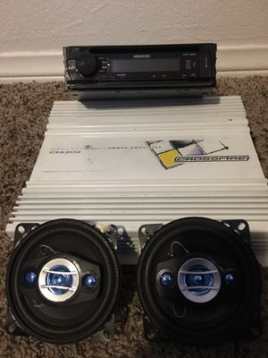 Stereo System for Sale in Bakersfield, CA
