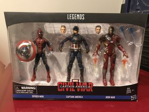 "Captain America Civil War 6"" figures for Sale in Lebanon, TN"