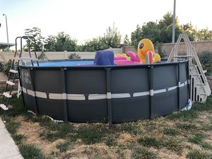 Intex 18ft x 52in Ultra XTR Pool for Sale in Montclair, CA