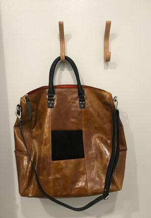 Cleo and Patek Paris huge leather bag for Sale in Auburn, WA