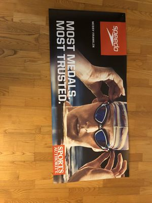 Sports Authority Missy Franklin Poster for Sale in FL, US