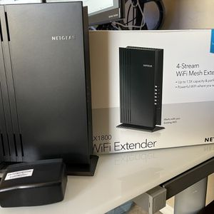Netgear EAX20 WiFi Extender Wi-Fi 6 AX1800 for Sale in Chandler, AZ
