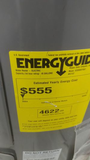 Electric Water heater for Sale in San Diego, CA
