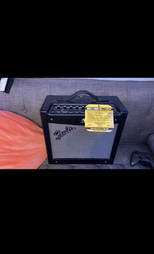 Amp and pedal for Sale in Midland, MI