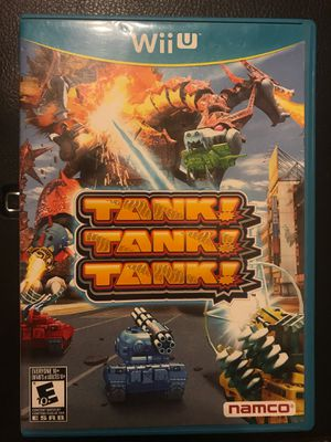 Nintendo Wii U Tank! Tank! Tank! for Sale in Mesa, AZ