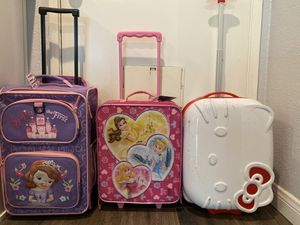 Kids luggage for Sale in Alta Loma, CA