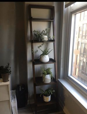 Crate and Barrel Leaning Bookcase for Sale in Washington, DC