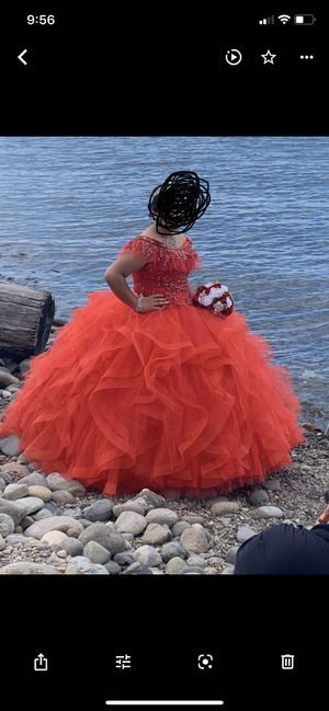 Quinceanera red Dress for Sale in Des Moines, WA