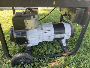 Powermate generator 6250 watt for Sale in Pompano Beach, FL