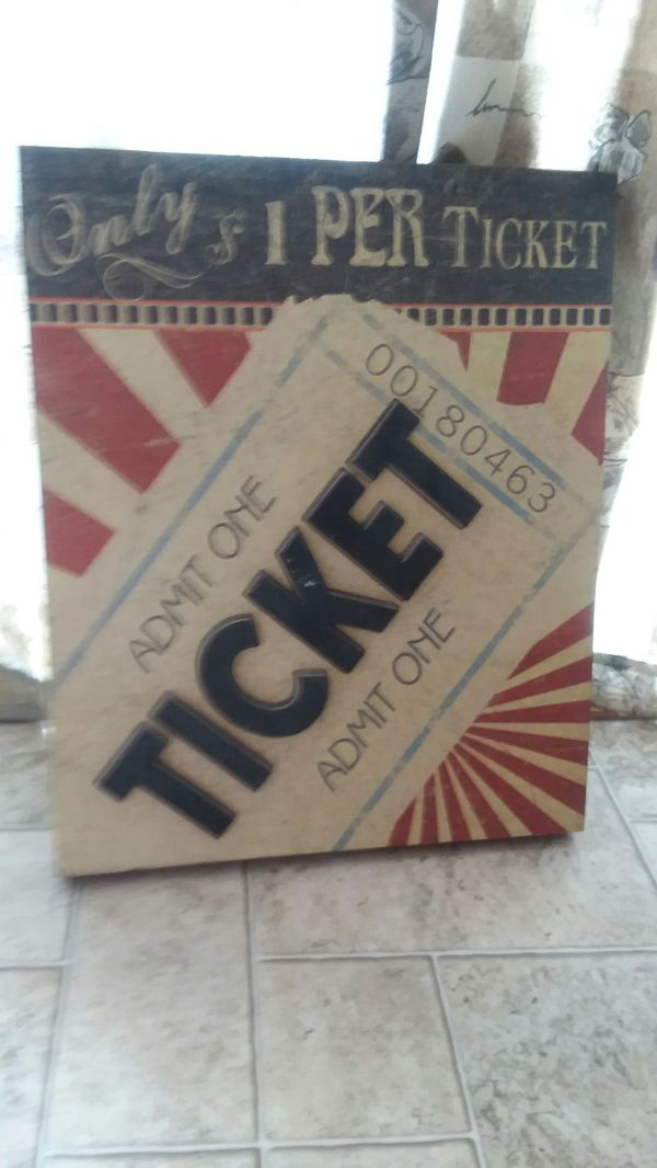 Ticket picture