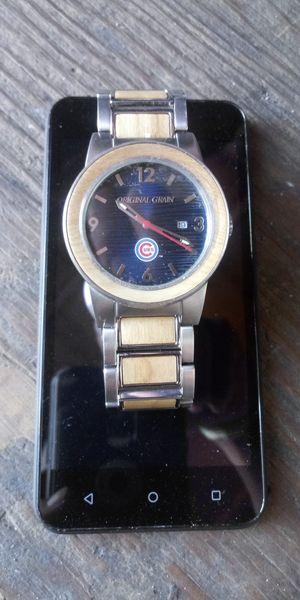 Original Grain watch.....chicago cubschampionship watch for Sale in Fontana, CA