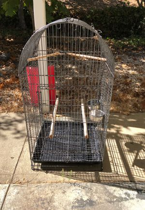 Parrot and any Bird cage for Sale in Millbrae, CA