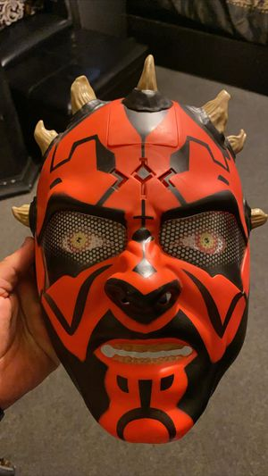 DARTH MAUL TALKING MASK for Sale in Inglewood, CA