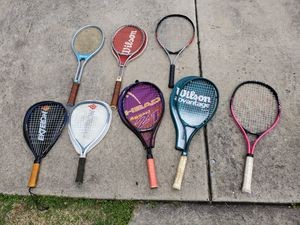 Tennis and racketball rackets. for Sale in Glendora, NJ