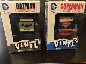 Batman superman magnet vinyl for Sale in Portland, OR