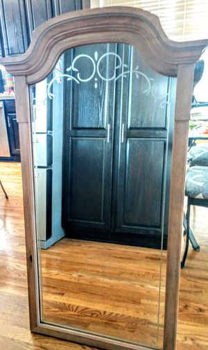 """Rustic Pine Etched Mirror 25"""" x 46"""" H for Sale in Arvada, CO"""
