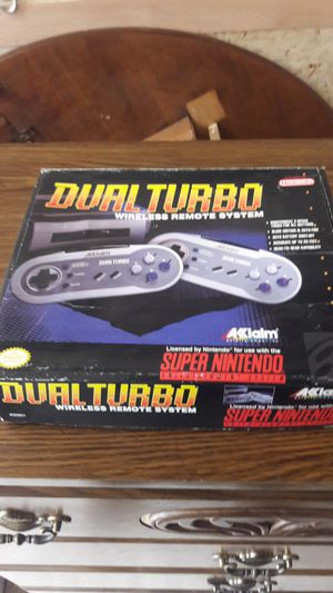Dual Turbo wireless remotes for Super Nintendo for Sale in Cleveland, OH