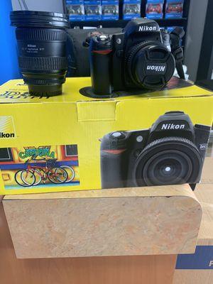 Nikon D80 10.2 Megapixel Digital and Lense for Sale in Long Beach, CA