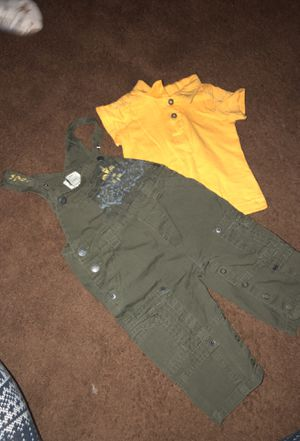 Baby Guess sz 6-9 months bibs/overalls for Sale in Sugar Notch, PA