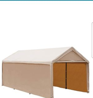 Top Cover Beige 10x20 Tarp Replacement Heavy Duty 10'x20' new for Sale in Santa Ana, CA
