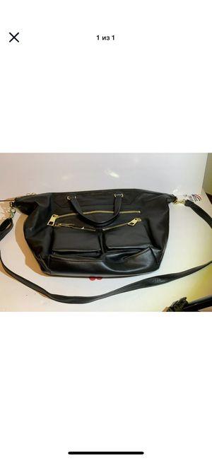 VINCE CAMUTO Black Genuine Leather Shoulder Bag/Hobo Handbag Tote for Sale in Everett, WA