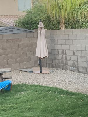 Umbrella pool backyard patio for Sale in Chandler, AZ