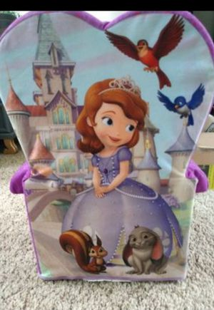 Kiddy Foam Princess Chair for Sale in Westminster, CO